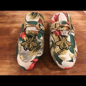NWOT Steve Madden Landon Floral Slip On Loafer